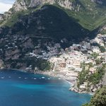 Situated 5 minutes out of Positano, hence affords view of entire city