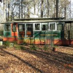Trolley car you can stay in