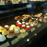Pastry case partial view