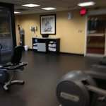fitness center on 2nd floor right by elevators
