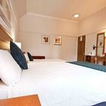 Bedroom at the Innkeeper's Lodge Weybridge