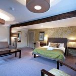 Bedroom at the Innkeeper's Lodge Aylesbury (East), Aston Clinton