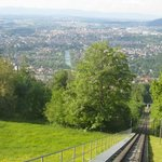 View from Gurten and funicular