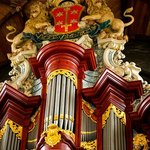 The organ - once played by Mozart.