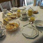 Breakfast at Millstream House, part one.