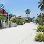 the Derawan village