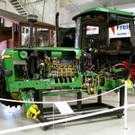 The Visible Tractor--John Deere with the guts on display