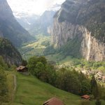 Returning from Wengen