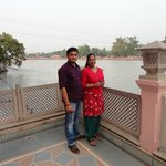 Balcony overlooking The Ganga