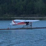 Float plane service next door