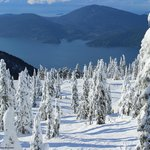 The View from Sky Chair at Cypress Mountain