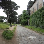 A stretch of the Ancient Appian Way