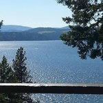 Great View of Lake Coeur D'Alene from our room
