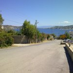 Road view in opposite direction from Yalikavak town (residential area, 10 mins walk from Hotel)