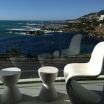 Balcony overlooking Camps Bay