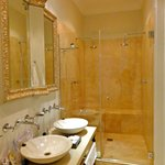 Large, elegant bathroom