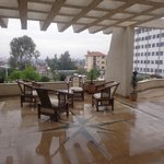 Terrace perfect for enjoying  addis ababa  beatiful weat