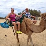 Camel ride across the Dunes!
