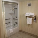 King Accesible Room Bath