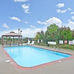 Our outdoor pool is open May to September.