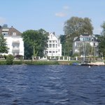 Houses on the Alster Lake