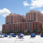 Hotel from Beach and Beach rentals