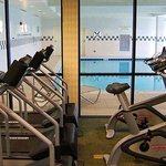 Fitness Room & Indoor Pool