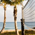 Beach Volleyball at Resort