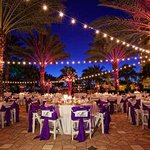 Sunset Terrace Dinner Reception