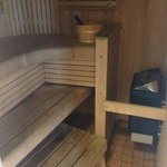Use the sauna!! It's lovely and cost us £3.