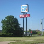 Huggy Bear Motel sign
