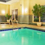 Indoor Pool where you can relax at this College Park Hotel