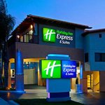 Holiday Inn Express on Hwy 101 South-bound view