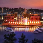 Enjoy the Water Show at the Branson Landing!