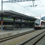 10 minutes walk to Wilderswil train station