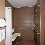 Wheelchair Accessible w Roll In Shower Holiday Inn Express Apex