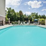 Outdoor Pool - Holiday Inn Express hotel near The Oaks at Salem