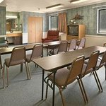 Property has a poolside meeting room for 25 people. Have a meeting or use it for a gathering.