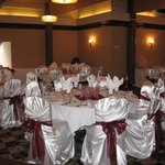 Upstairs With Chair Covers