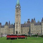 Parliament Hill And The Changing Of The Guard