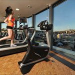Gym on the 6th floor with the beautiful view