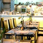 Restaurant waterkant with show kitchen