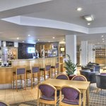 Relax in Holiday Inn Express Edinburgh's informal bar and lounge