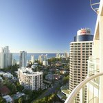 Enjoy Sea views at Crowne Plaza Surfers Paradise