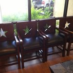 THIS IS MORE LIKE IT... Lone Star Chairs