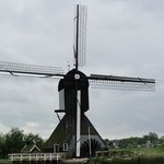De Blokker Molen (the blocker mill) - built in 1521burned down in 1997, but restored and operati