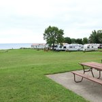 Virginia's Beach Campground Foto