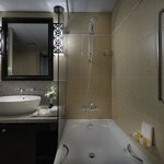 Guest Bathroom at Holiday Inn Dubai Al Barsha
