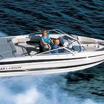 2013 Timber Wolf Lodge introduces three new boats to our fleet.  A 19' Larson Ski Boat, a 17' Eb