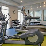 Fitness Room – Pool View